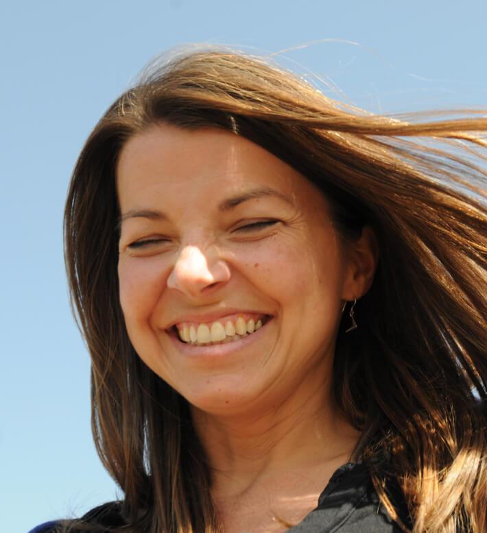 Jolene smiling