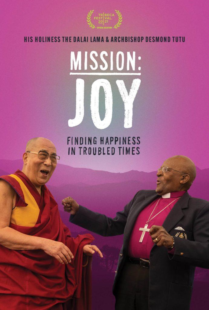 film poster of the archbishop tutu and his holiness the dalai lama